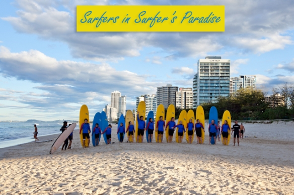 Surfing Lessons in Surfers Paradise