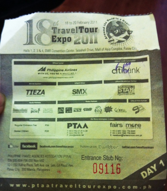 18th PTTA Travel Expo 2011