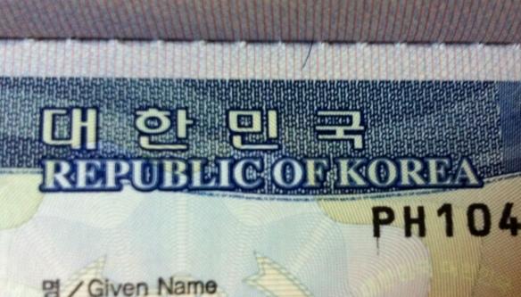korean tourist visa