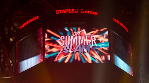 WWE summer slam 2011 LA 1