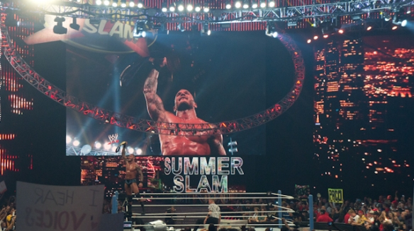 WWE summer slam 2011 LA 3